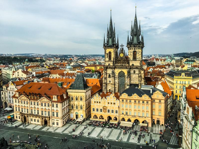 Prague stock image