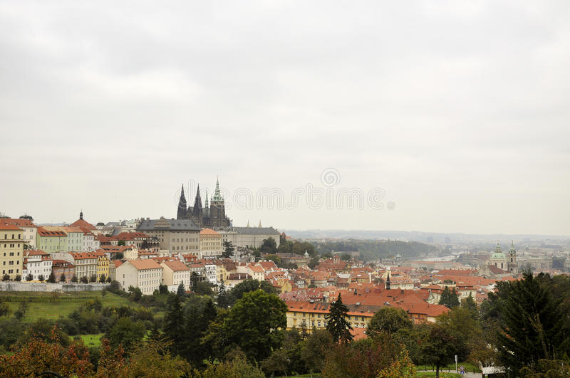 Download Prague Czech republic stock photo. Image of town, dome - 19311310