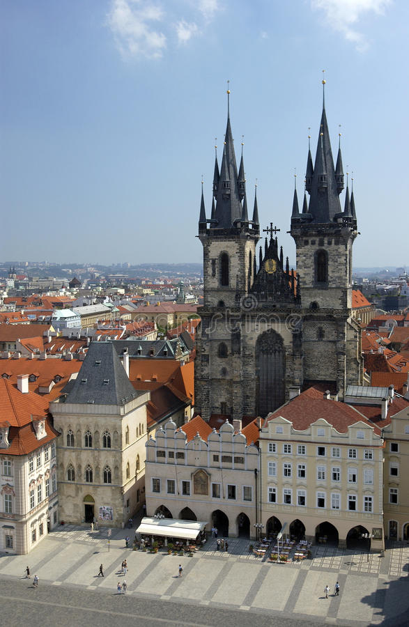 Prague In The Czech Republic Royalty Free Stock Photography