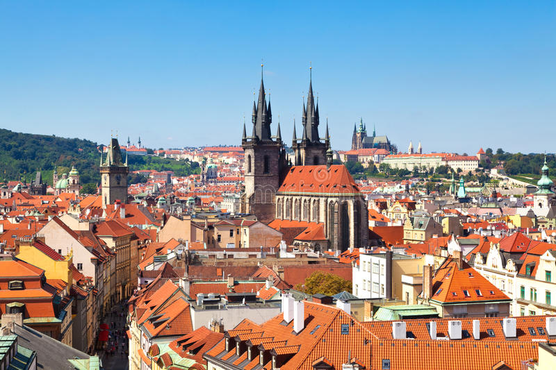 Download Prague, Czech Republic stock photo. Image of panorama - 20907324