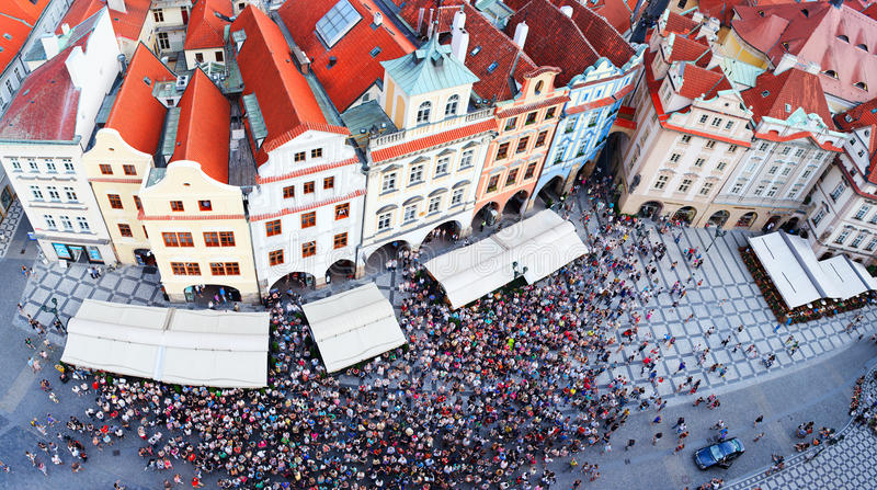 Download Prague, Czech Republic stock image. Image of people, european - 26302913
