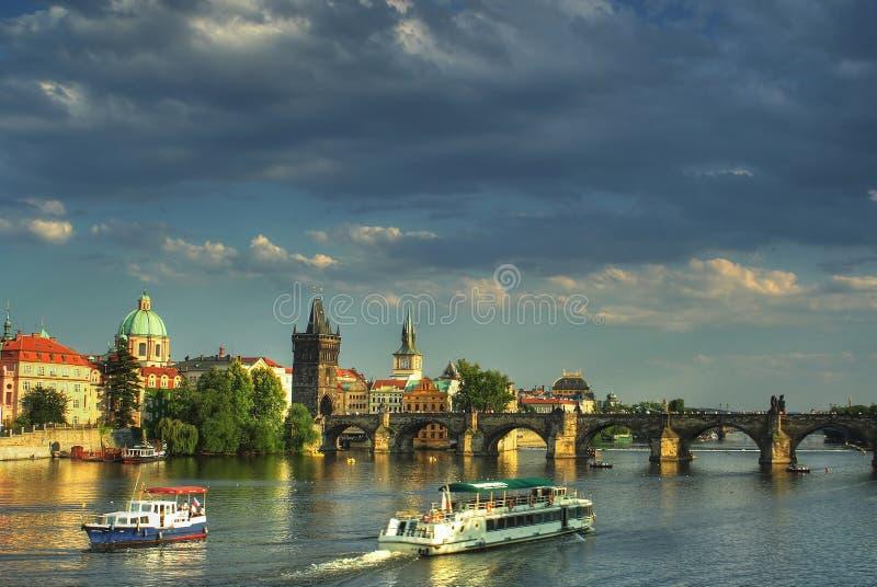Download Prague, Czech republic stock photo. Image of house, bridge - 8271214