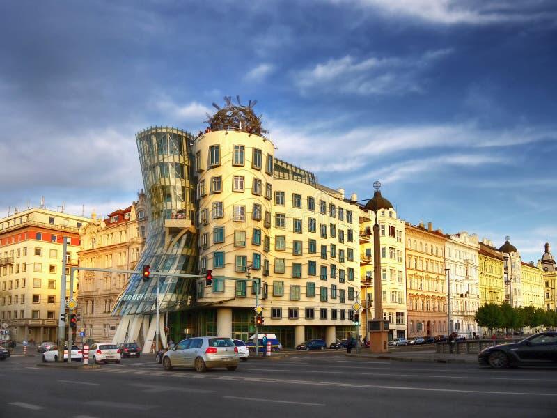Dancing House Prague royalty free stock photography