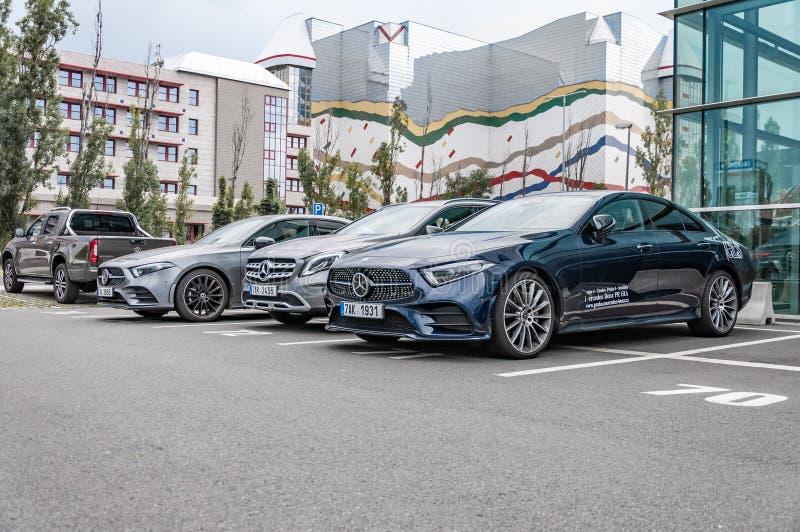 Mercedes Benz CLS 400d royalty free stock photos
