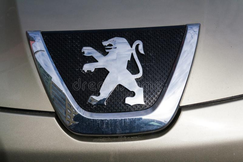 Peugeot Company Logo On Silver Car Editorial Photo Image Of Business Peugeot 112927091