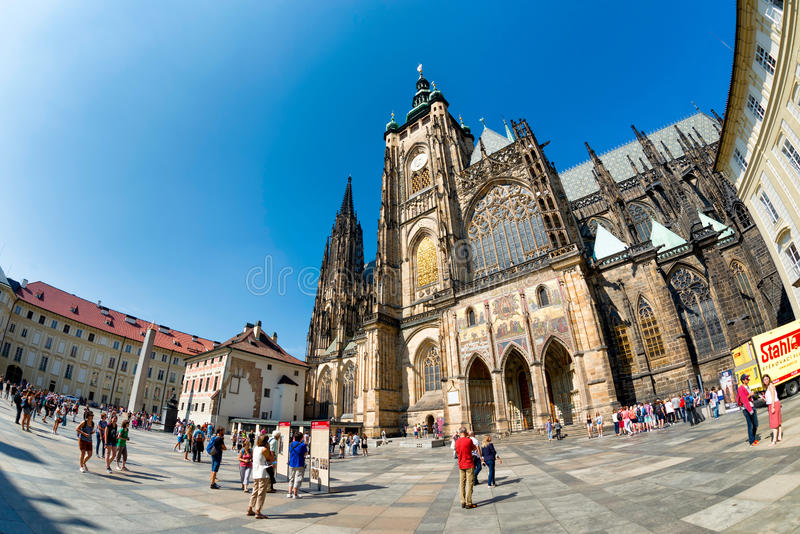 Download PRAGUE, CZECH REPUBLIC - SEPTEMBER 07, 2016: People At St Vitus Editorial Stock Photo - Image of heritage, bohemia: 90827368