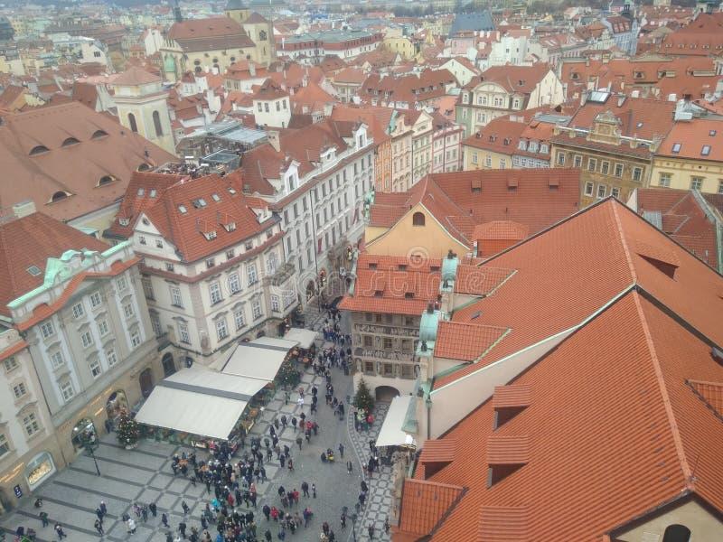 Prague Czech and Slovak Republic city stock photography