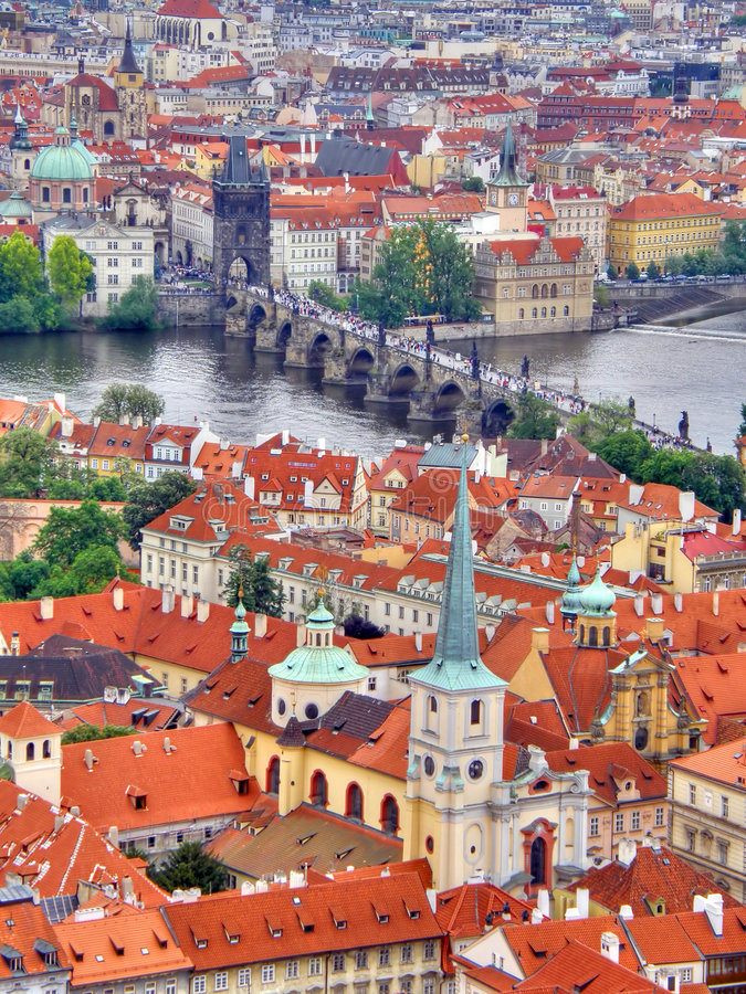 Prague. Czechia. The beautiful photographic image. Old city. Prague. Czechia stock image