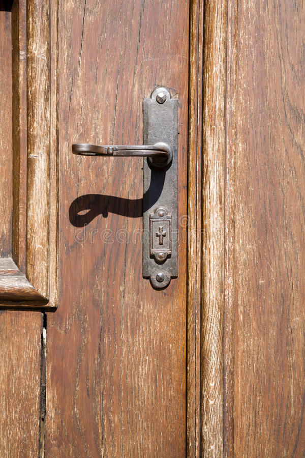 Free Prague - Detail Of Cloister Door Royalty Free Stock Images - 17528719
