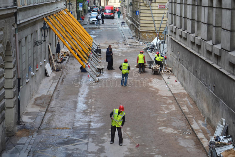 Prague explosion royaltyfri bild