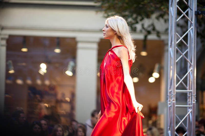 Download Prague Fashion Weekend On September 24, 2011 In Pr Editorial Photography - Image: 21318427