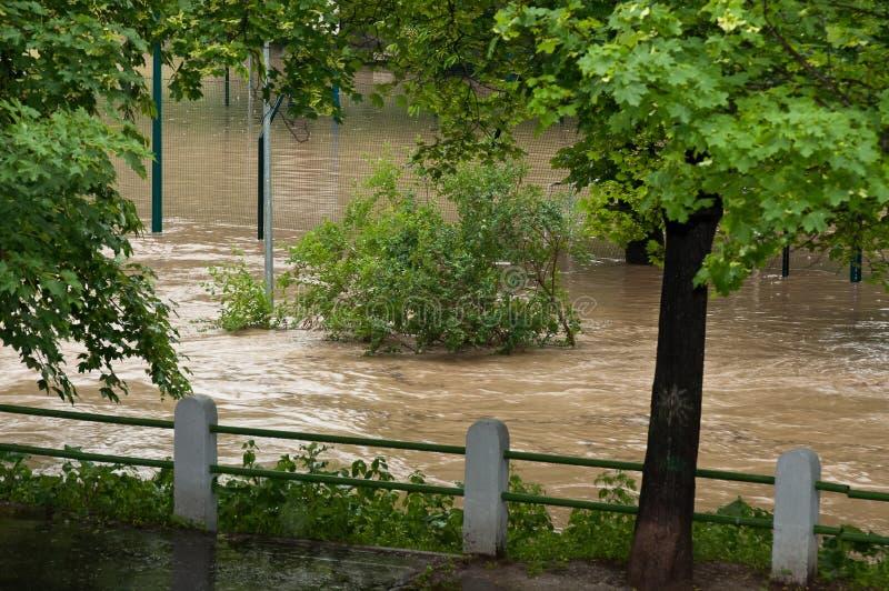 Prague Flood June 2013 Editorial Stock Photo