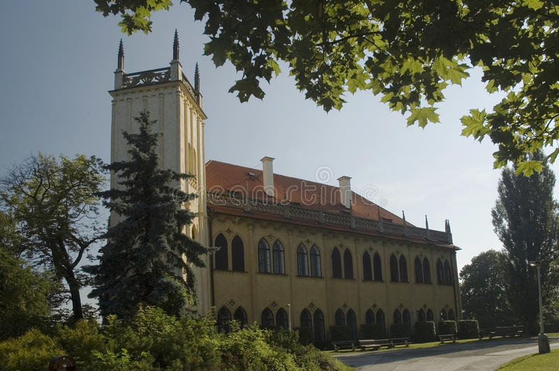 Prague Governor's Summer House royalty free stock photography