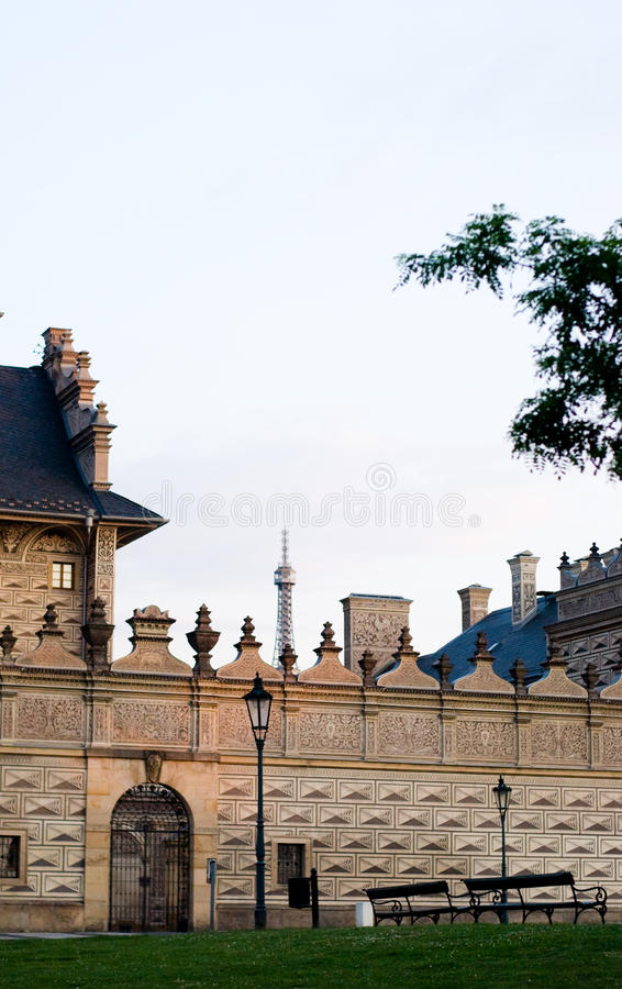 Download Prague stock photo. Image of historic, europe, lamp, czech - 32408522