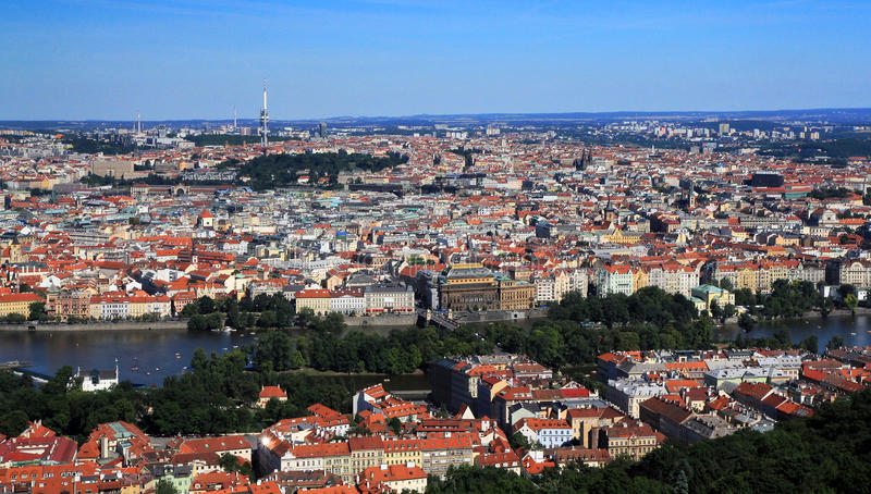Download Prague historic centre stock image. Image of czech, centre - 25946531