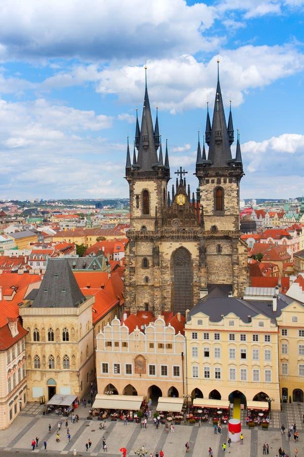 prague katedralny tyn obrazy royalty free