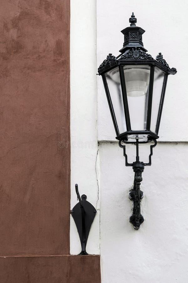 Prague lamp stock images