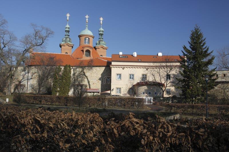 Download Prague Landmark - St Lawrence Church Stock Image - Image: 18349285