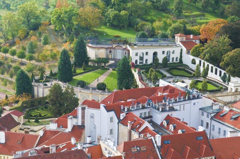 Prague landscape royalty free stock photos