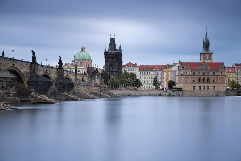 Download Prague. stock image. Image of czech, charles, river, church - 32228611