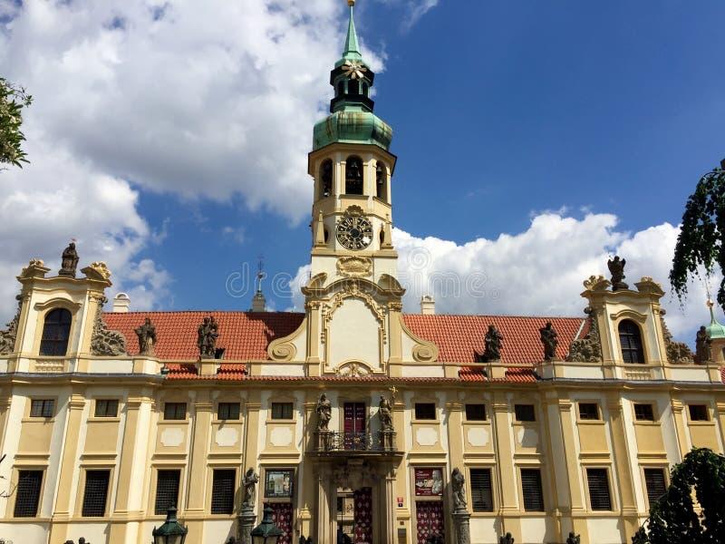 Prague Loreta Church, République Tchèque image libre de droits