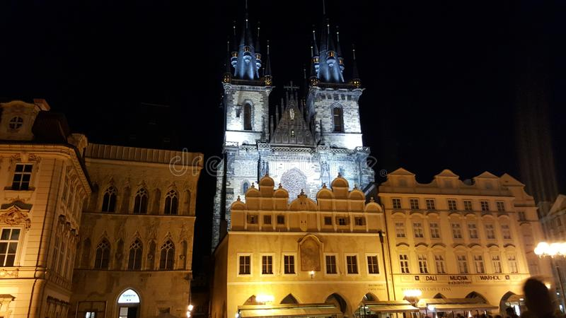 Prague Lowkey stock image