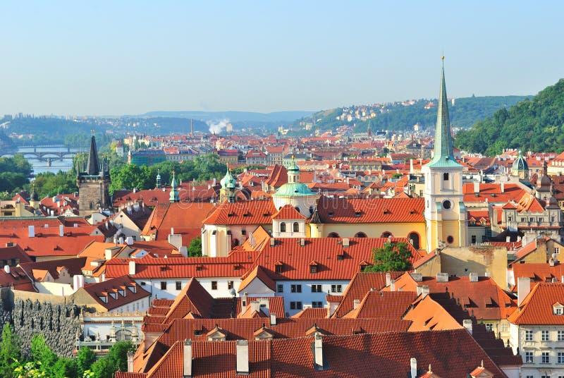 Prague. Mala Strana images libres de droits