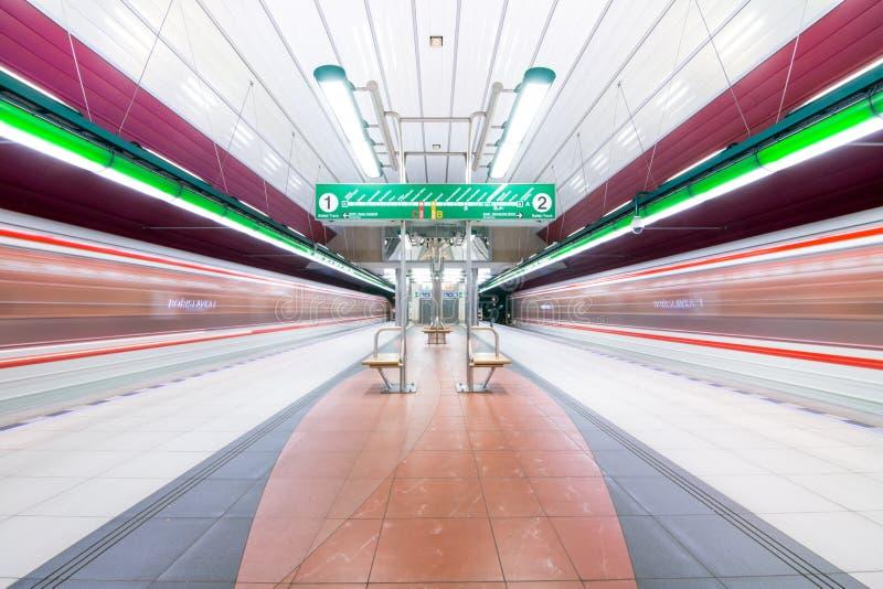 Prague Metro stock images