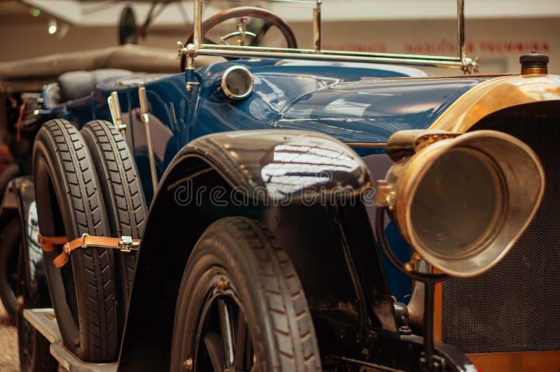 Prague, musée technique de République Tchèque, rétro voiture 2017-09-12 image libre de droits