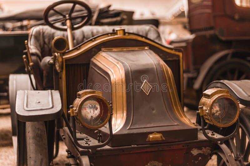 Prague, musée technique de République Tchèque, rétro voiture 2017-09-12 images stock