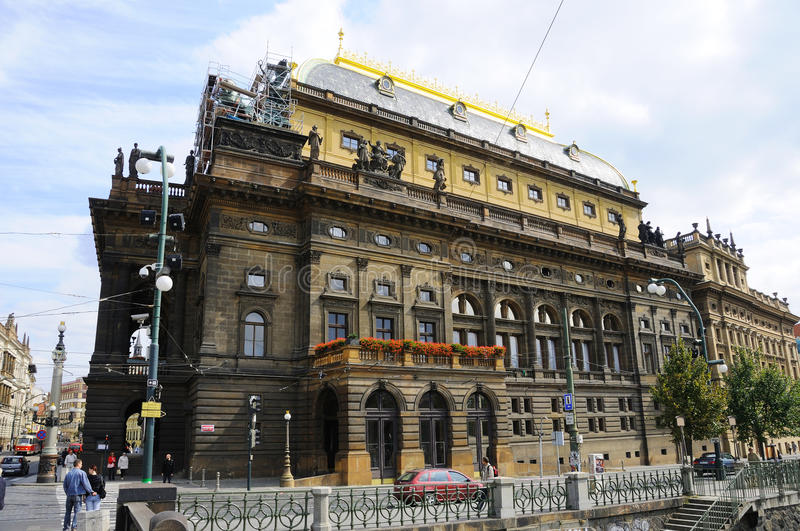 Download Prague National Opera Theater Royalty Free Stock Photos - Image: 13600868