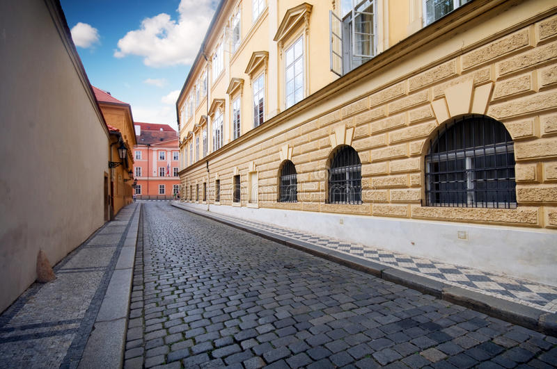 Download Prague. Old Architecture, Charming Street Stock Photo - Image: 15638190