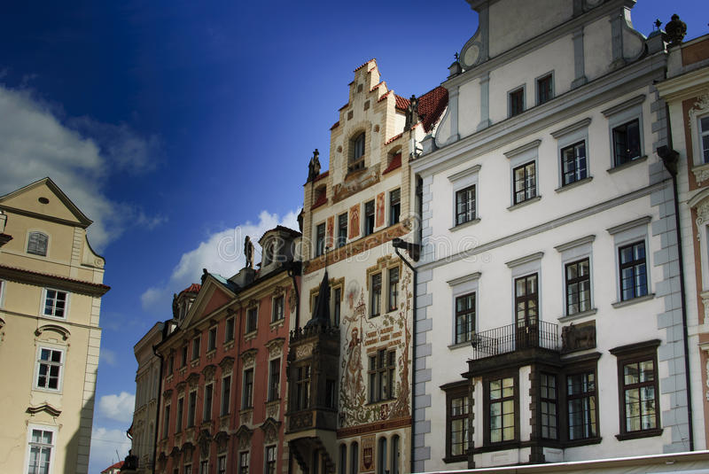 Prague. Old Buildings Royalty Free Stock Images