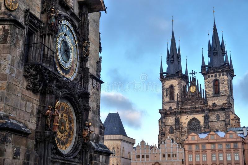 Download Prague Old City center stock photo. Image of church, historical - 83712956