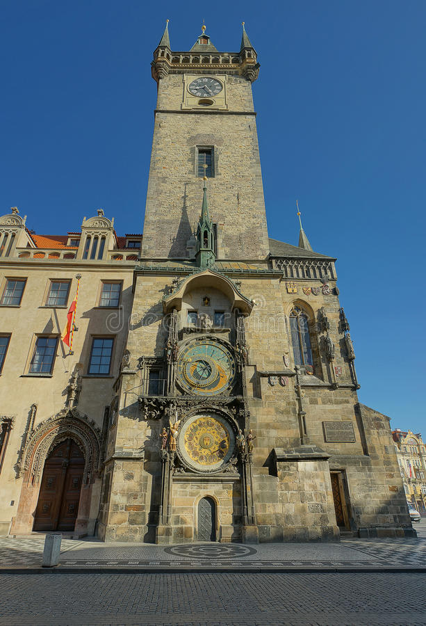 Download Prague Old City Hall Clock Tower Stock Photo - Image: 26714904
