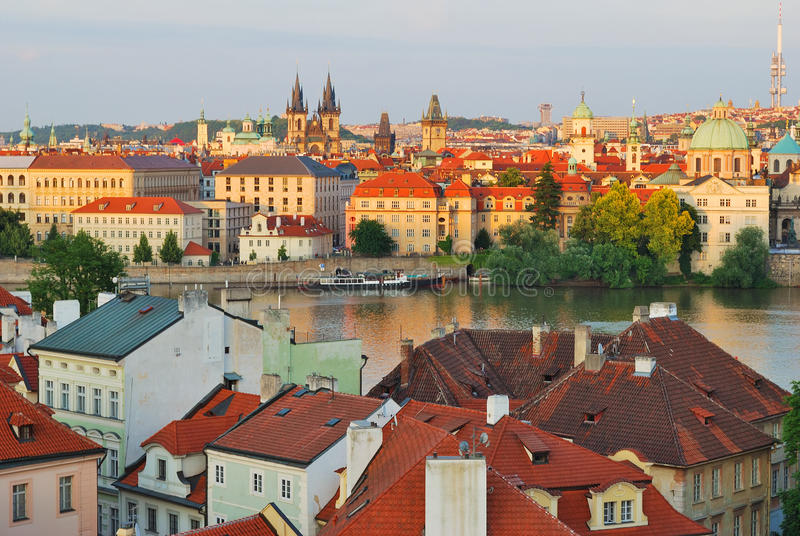 Prague Old Town stock images