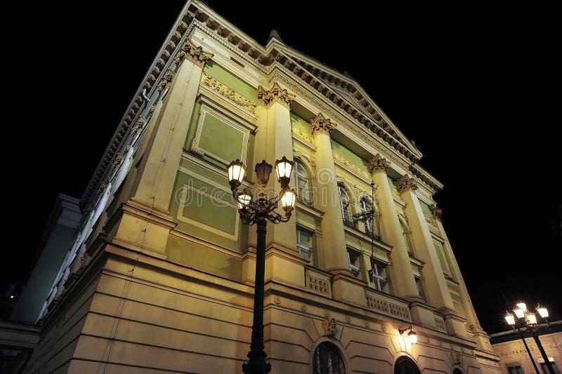 Download Prague Old Town Street At Night Stock Photo - Image: 12538662