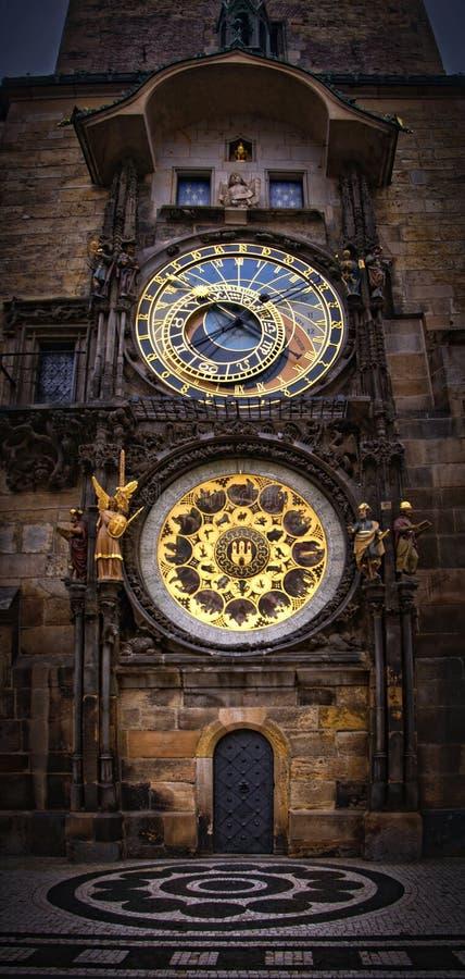 Prague Orloj Stock Photo