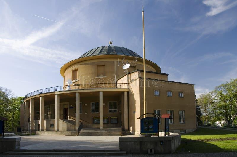 Prague planetarium stock image