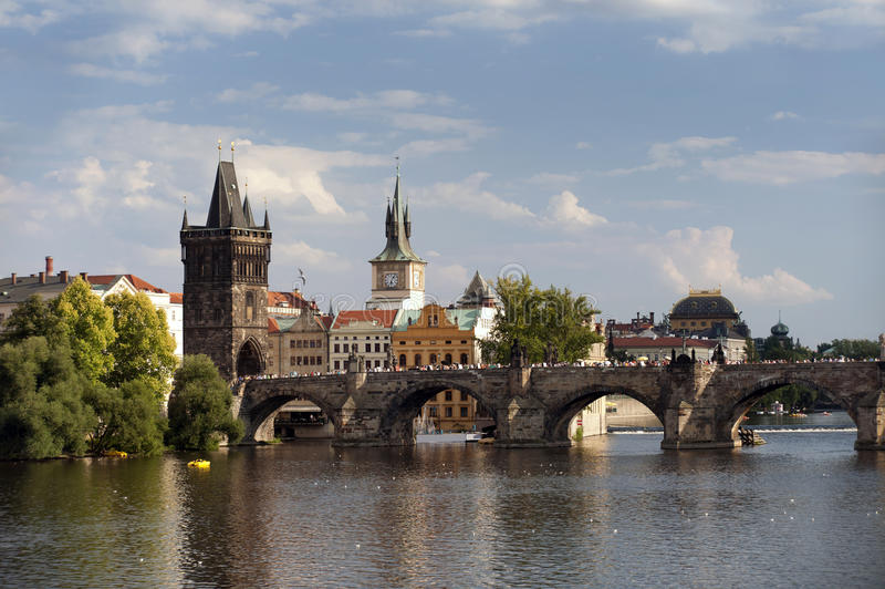 Prague - Prague's Venice stock images