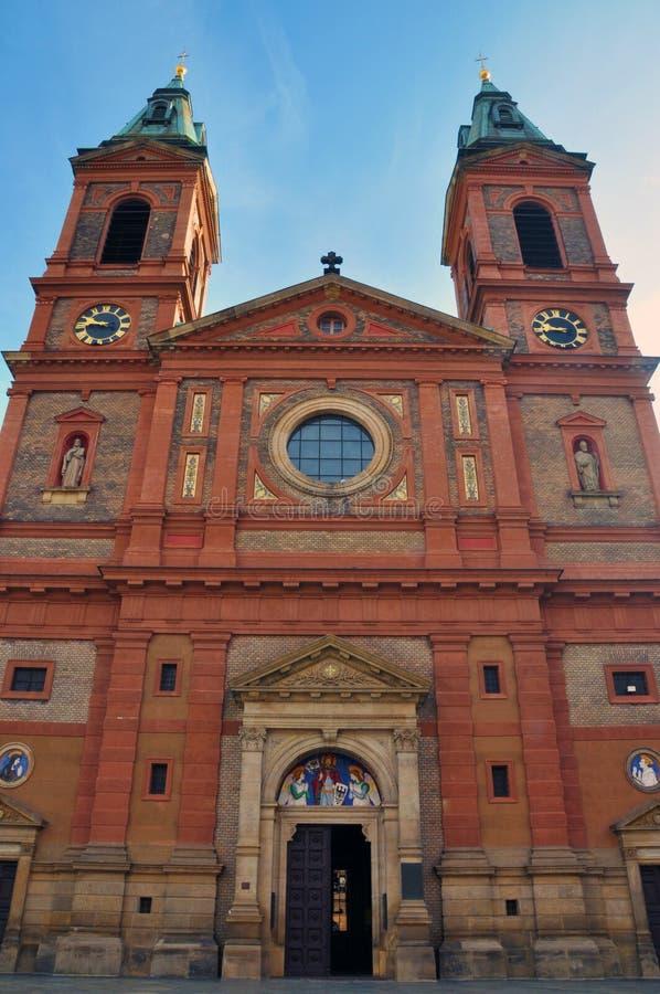 Download Prague Praha / St. Wenceslas Church Stock Image - Image of bright, classical: 11683659
