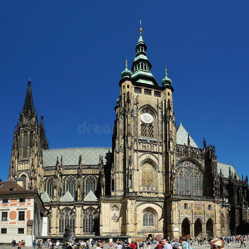 Prague President's Castle stock photography
