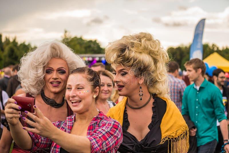 Prague Pride Parade photos libres de droits