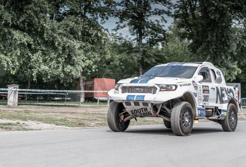 Prague, R?publique Tch?que - 16/5/2019 Ford Ranger DAKAR sp?cial photographie stock