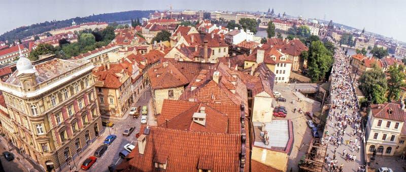 Panorama de Prague, R?publique Tch?que photo libre de droits