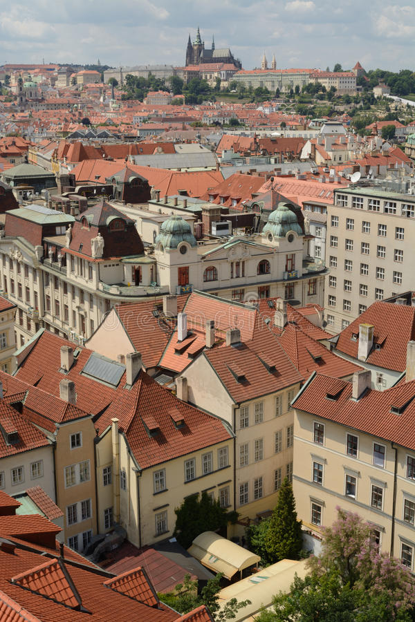 Download Prague roofs stock photo. Image of historic, czech, prague - 45059732