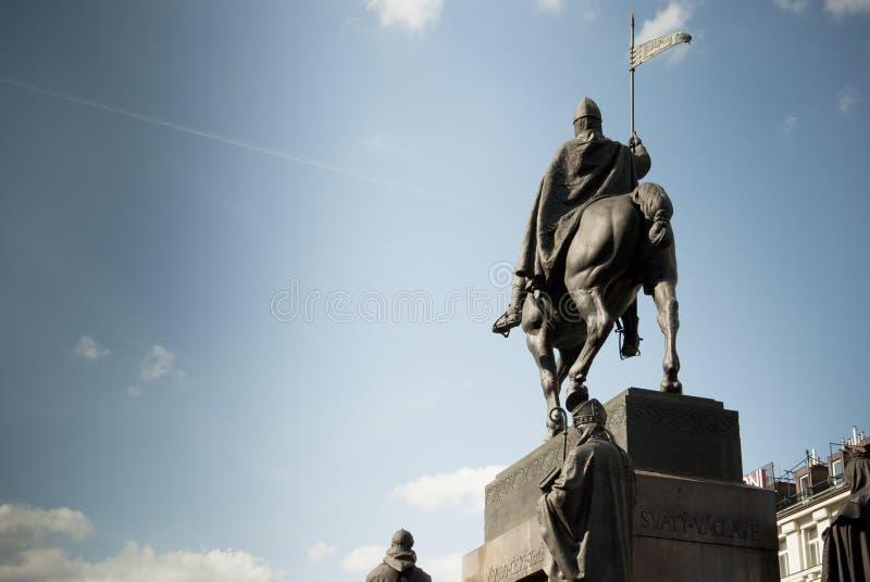 Download Prague.S.Venceslao statue stock image. Image of prague - 36221055