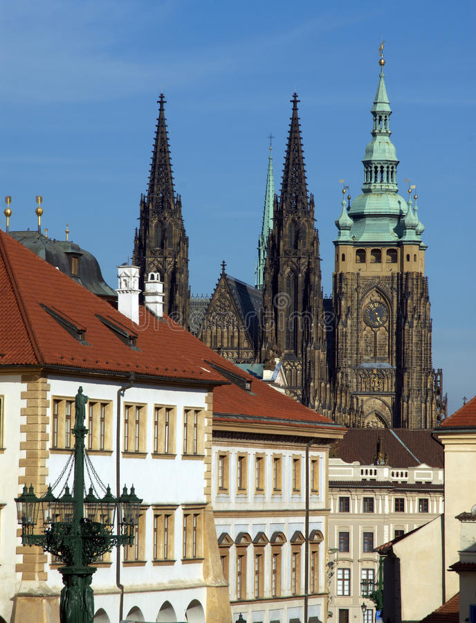 Download Prague slott arkivfoto. Bild av torn, bygger, gammalt - 27276386