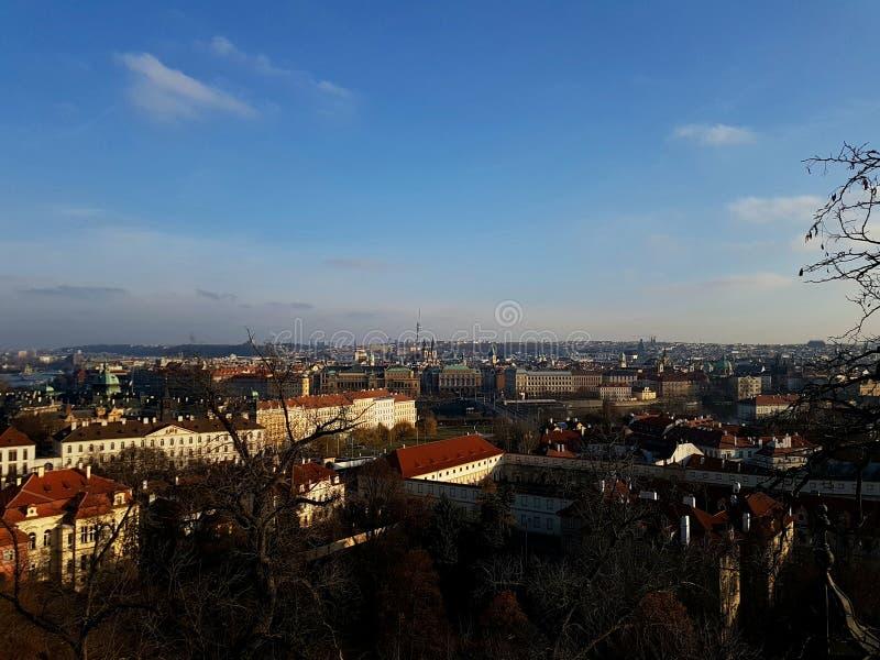 Prague solaire photo stock