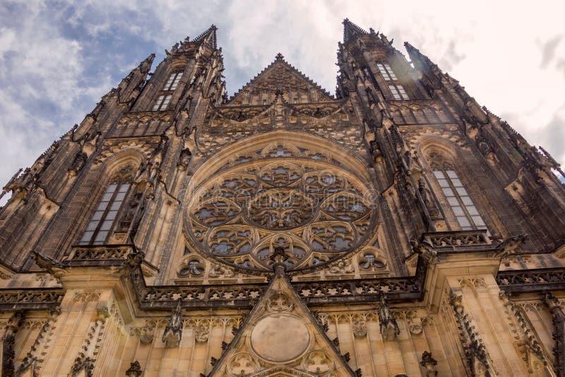 prague St Vitus Cathedral République Tchèque photos libres de droits
